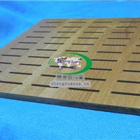 供应广州U型孔吸音板_声源条形孔吸音板