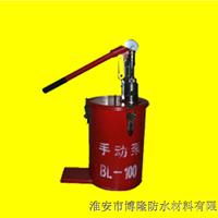 供应手动化学灌浆泵BL100