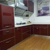 云南昆明铝合金橱柜铝材晶钢门铝材
