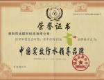 中国实效防水领导品牌