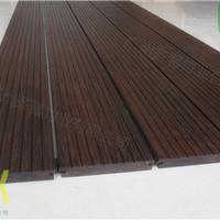 户外竹木地板碳黑竹木地板高耐防腐长久使用