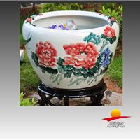 陶瓷喷水缸价格,陶瓷喷水鱼缸厂家