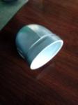 耐锐克银色沟槽衬塑弯头(90度)