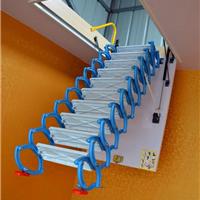 天津阁楼折叠楼梯 电动遥控阁楼伸缩楼梯 阁楼伸缩梯子