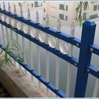 定做工厂围墙护栏喷塑铁艺护栏价格