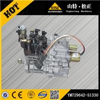 供应小松PC50、55MR-2柴油泵YM729642-51330
