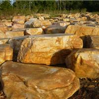 供应万吨台面石、平台石、踏步石、假山石