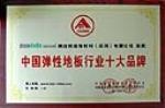 中国弹性地板行业十大品牌