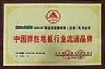 中国弹性地板行业流通品牌