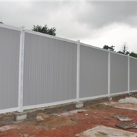 供应深圳市政施工PVC围墙