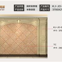 九尾狐石材客厅电视背景墙简欧KJ-JO-003
