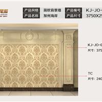 九尾狐石材客厅电视背景墙简欧KJ-JO-004