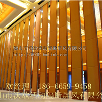广州酒店拖拉式隔音墙