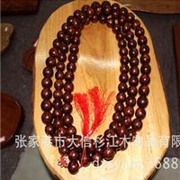 张家港神韵极品越黄珠串产自同一棵料