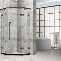 供应钢化玻璃移门普通淋浴房2015新款不锈钢