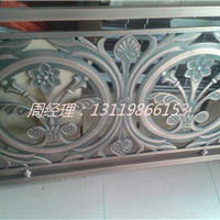 福州新款铝板雕花铝板护栏 青古铜高档护栏