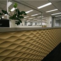 装饰板波浪板墙面门头背景广告板凹凸造型板