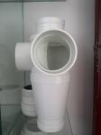 供应 排水管材管件  漩流降噪立体四通