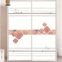 佛山供应新款衣柜移门 工艺玻璃衣柜门