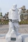 加工八仙过海人物石雕像 园林广场八仙雕塑