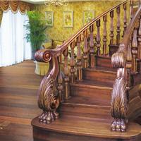 室内楼梯的选择 实木楼梯旋转楼梯
