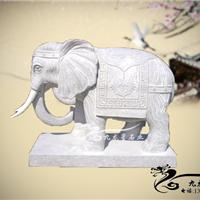九龙星看门石象 园林看门石象 大象看门