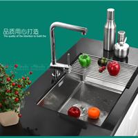 爱普乐304不锈钢水槽单槽 洗碗池6343R