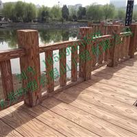 供应仿木栏杆施工建筑护栏价格护栏厂家