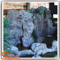 仿真石头 假山流水 玻璃钢制品假山