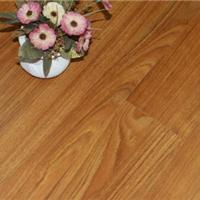 供应柚木色真木纹拉丝水曲柳防水高耐磨地板