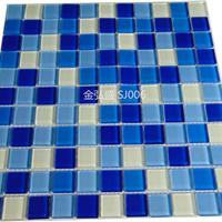 供应水晶马赛克专用于别墅泳池-酒店泳池