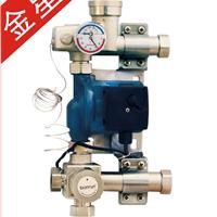 供应变形金刚-博容地暖混水系统 双末端神器