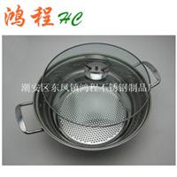 供应加厚不锈钢汤锅28/30/32CM大汤锅价格低