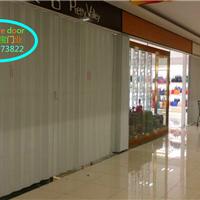 供应西安PVC折叠门商铺折叠门吊趟门推拉门