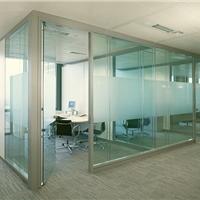 供应天津双层玻璃隔断高隔价格玻璃隔断报价