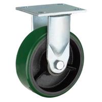 绿色铁芯聚氨酯工业脚轮