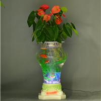 供应电子水培花瓶 多功能花瓶 水培花卉