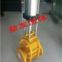 供气动陶瓷闸阀WZ644TC,气动陶瓷双闸板阀