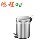 供应不锈钢脚踏垃圾桶卫生桶3-30L批发价格