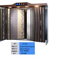 供应厂家定制地砖展示柜,翻页式瓷砖展柜