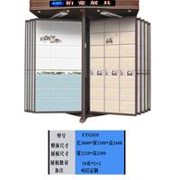 供应定做瓷砖展示架,瓷片展柜,陶瓷砖展柜