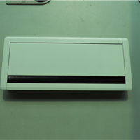 铝合金过线盒,毛刷阻力缓冲线盒,翻盖线盒