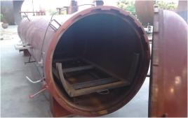 木材阻燃罐 专业防火门真空阻燃设备生产厂家