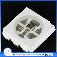 WS2812S内置IC6脚点控幻彩灯珠封装原厂价格
