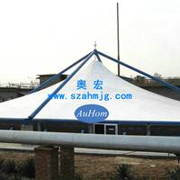 污水池加盖|污水处理池膜结构密封除臭|奥宏