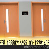 新建改建医院橙黄色老干部病房门 养老院门