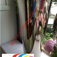 供应镜面不锈钢花盆/花钵/花瓶