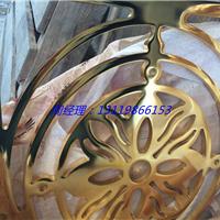 铝合金吊顶隔断订做 表面颜色K金处理