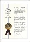 美国专利证书-净水机滤芯手动清洗切换装置