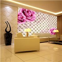 上海无缝墙布厂家  3D背景墙